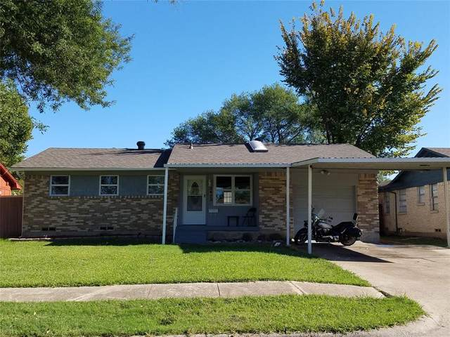 2412 Moreland Drive, Mesquite, TX 75150 (MLS #14696508) :: Real Estate By Design