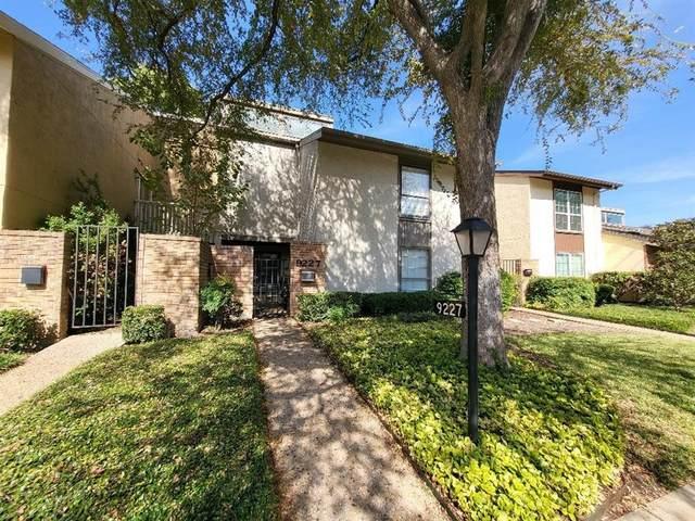 9227 Chimney Corner Lane, Dallas, TX 75243 (MLS #14696948) :: Wood Real Estate Group
