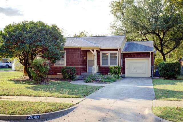 2640 Falls Drive, Dallas, TX 75211 (MLS #14697207) :: Wood Real Estate Group