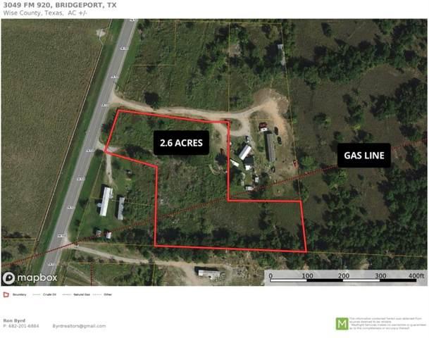 3049 Fm 920, Bridgeport, TX 76426 (MLS #14697843) :: The Hornburg Real Estate Group