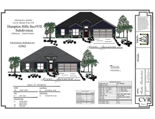 2942 Journey, Abilene, TX 79606 (MLS #14697895) :: Front Real Estate Co.
