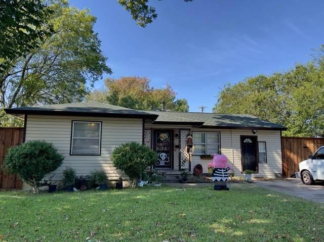 2141 Evergreen Street, Garland, TX 75041 (MLS #14698276) :: The Hornburg Real Estate Group