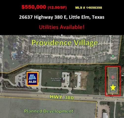 26637 E University Drive, Little Elm, TX 76227 (MLS #14698398) :: The Mitchell Group