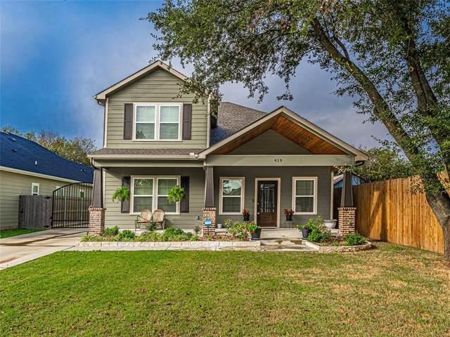 419 Coleman Street, Waxahachie, TX 75165 (MLS #14698993) :: Rafter H Realty