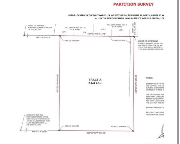 161 Pease Cutoff Road, Haughton, LA 71037 (MLS #275440NL) :: Real Estate By Design