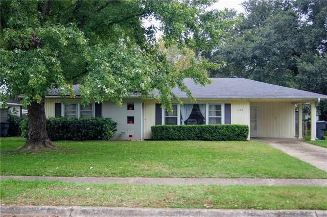 147 Justin Avenue, Shreveport, LA 71105 (MLS #279383NL) :: Wood Real Estate Group
