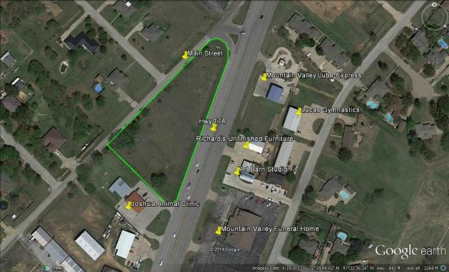 0000 South Main & Hwy 174, Joshua, TX 76058 (MLS #13012451) :: The Heyl Group at Keller Williams