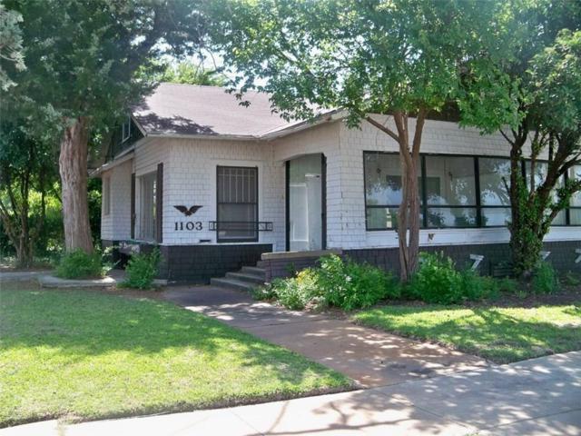 1103 W Commercial Avenue S, Coleman, TX 76834 (MLS #13408115) :: Team Hodnett