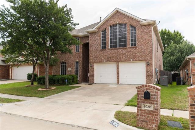 4020 Glenwyck Drive, North Richland Hills, TX 76180 (MLS #13619561) :: RE/MAX Pinnacle Group REALTORS