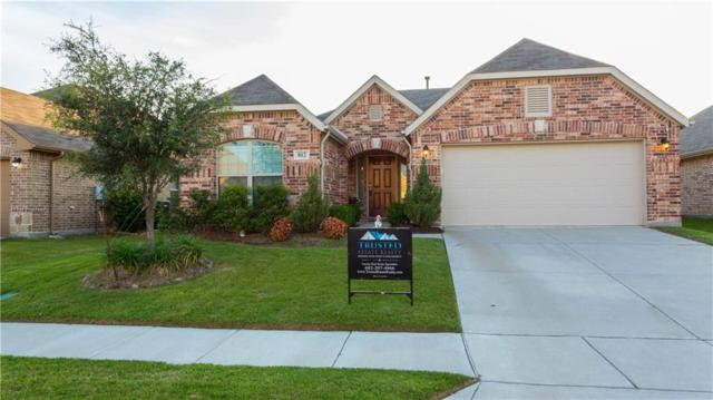 812 Silvermoon Drive, Little Elm, TX 75068 (MLS #13631987) :: Real Estate By Design