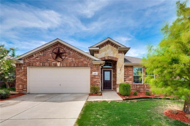 918 Horizon Ridge Circle, Little Elm, TX 75068 (MLS #13633229) :: Real Estate By Design