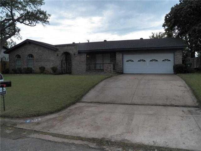 217 Cooper Drive, Hurst, TX 76053 (MLS #13654735) :: The Mitchell Group