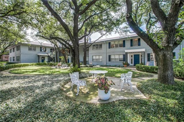 6230 Bandera Avenue 6230D, Dallas, TX 75225 (MLS #13673977) :: Robbins Real Estate