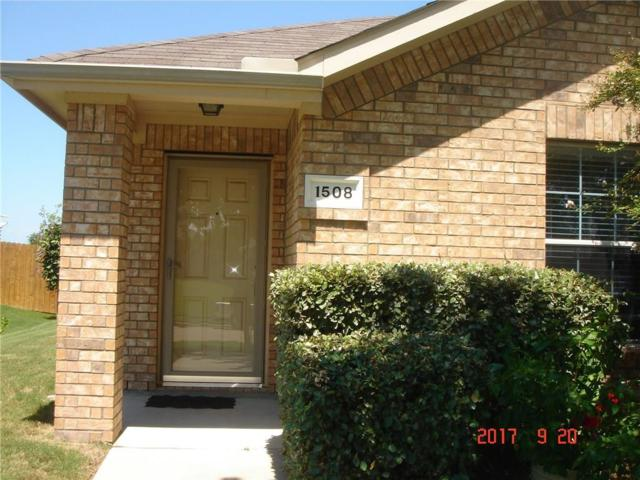 1508 Dun Horse Drive, Fort Worth, TX 76052 (MLS #13677012) :: RE/MAX