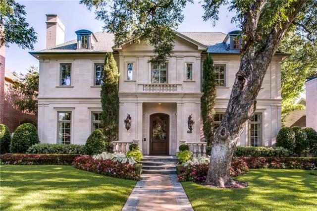 4012 Southwestern Boulevard, University Park, TX 75225 (MLS #13690529) :: Robbins Real Estate