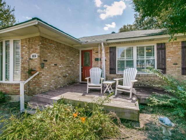 10236 Estate Lane, Dallas, TX 75238 (MLS #13694650) :: Frankie Arthur Real Estate