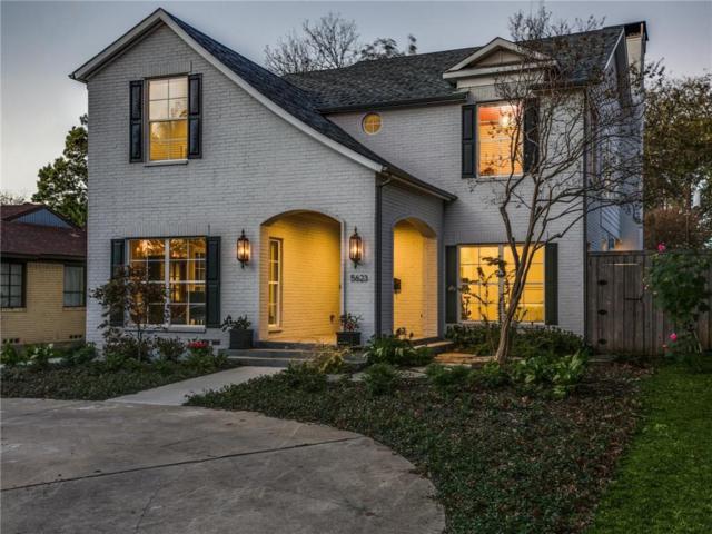 5623 W Amherst Avenue, Dallas, TX 75209 (MLS #13733084) :: Team Hodnett