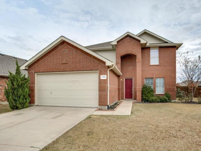 2743 Hacienda Lake Drive, Little Elm, TX 75068 (MLS #13738491) :: Kindle Realty