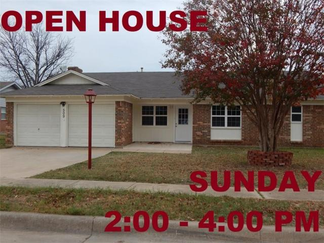 509 E Bovell Street, Crowley, TX 76036 (MLS #13739158) :: The Mitchell Group