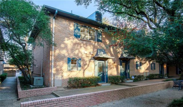 6009 E University Boulevard #131, Dallas, TX 75206 (MLS #13740100) :: Team Hodnett