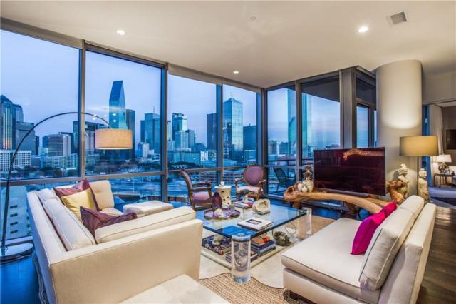 2200 Victory Avenue #1202, Dallas, TX 75219 (MLS #13743946) :: Carrington Real Estate Services