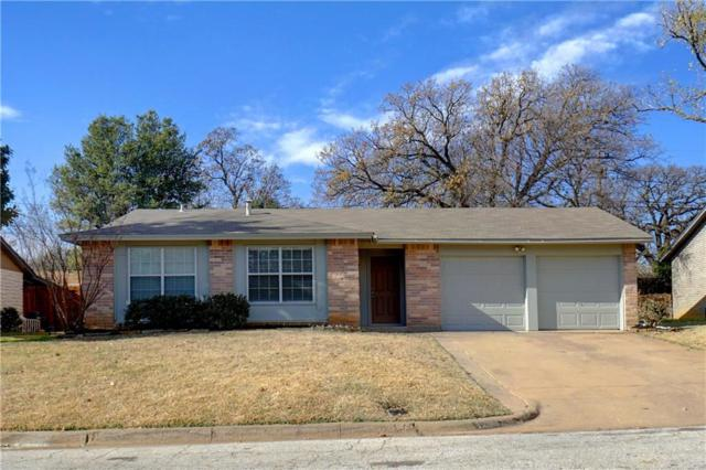 1203 Crane Drive, Euless, TX 76039 (MLS #13744889) :: The Mitchell Group