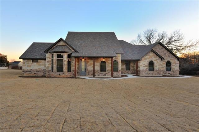 151 Forest Creek Circle, Weatherford, TX 76088 (MLS #13744990) :: Team Hodnett