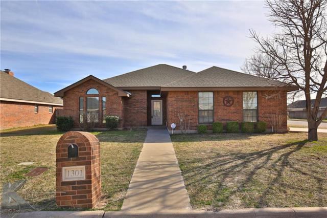 1301 Tulane Drive, Abilene, TX 79602 (MLS #13748764) :: Team Hodnett