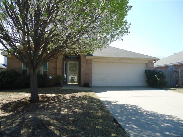 1345 Meadowbrook Lane, Crowley, TX 76036 (MLS #13756711) :: Team Hodnett