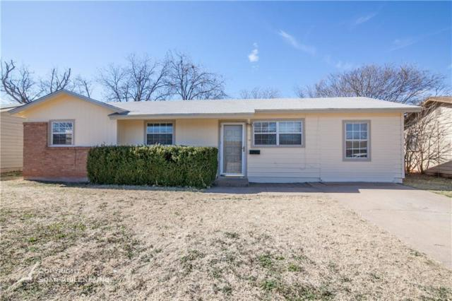2110 Bel Air Drive, Abilene, TX 79603 (MLS #13757583) :: Team Hodnett
