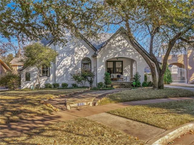 1933 Berkeley Place, Fort Worth, TX 76110 (MLS #13760869) :: Team Hodnett