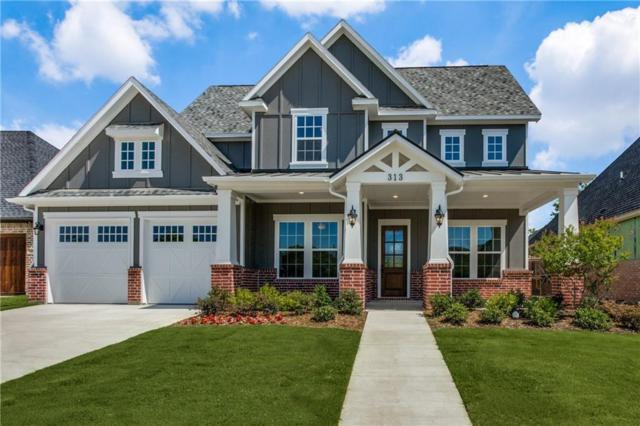 313 Ellison Trace, Argyle, TX 76226 (MLS #13770661) :: The Real Estate Station