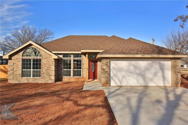 226 Taylor Avenue, Tuscola, TX 79562 (MLS #13775010) :: Team Hodnett