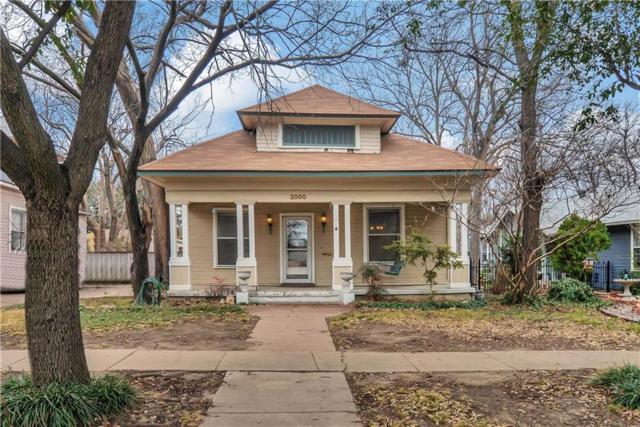 2000 Lipscomb Street, Fort Worth, TX 76110 (MLS #13777815) :: Team Hodnett