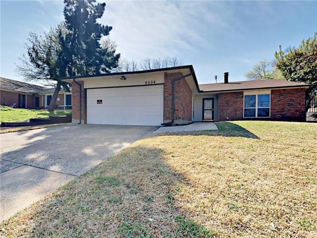6504 Greenspring Drive, Arlington, TX 76016 (MLS #13783506) :: Team Hodnett