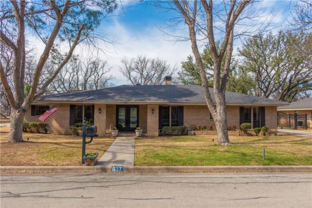 807 Brook Hollow Street, Brownwood, TX 76801 (MLS #13783884) :: Team Hodnett