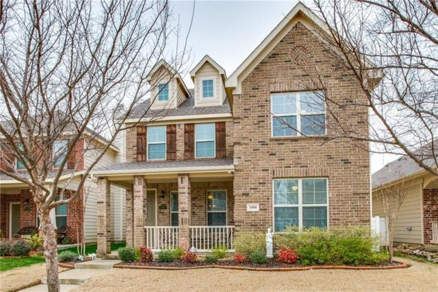 1000 Charleston Lane, Savannah, TX 76227 (MLS #13784852) :: Team Hodnett