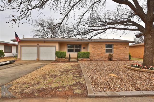 317 Glenhaven Drive, Abilene, TX 79603 (MLS #13785076) :: Team Hodnett