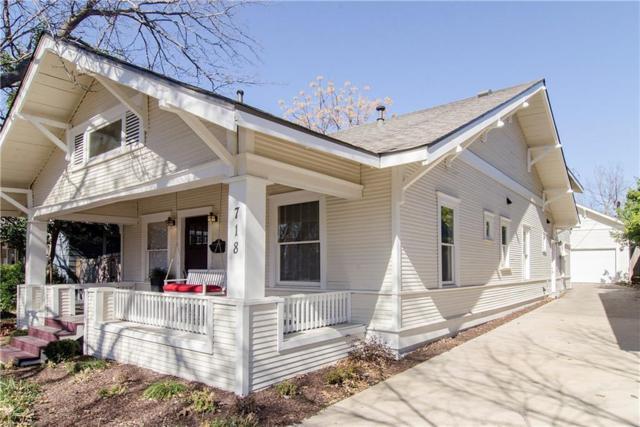 718 Parkmont Street, Dallas, TX 75214 (MLS #13788385) :: Baldree Home Team