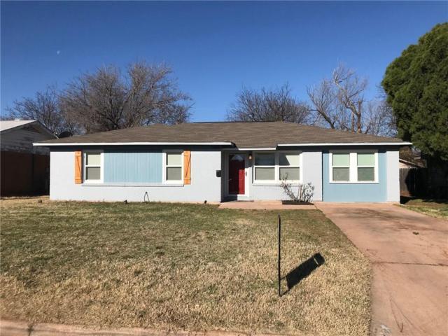 1366 Mimosa Drive, Abilene, TX 79603 (MLS #13789538) :: Team Hodnett