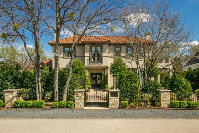 8414 Swananoah Road, Dallas, TX 75209 (MLS #13790169) :: Frankie Arthur Real Estate
