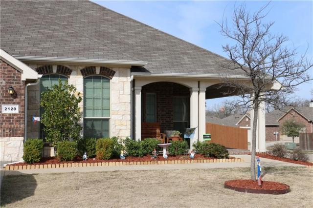 2120 Caroline Drive, Weatherford, TX 76087 (MLS #13790215) :: Team Hodnett