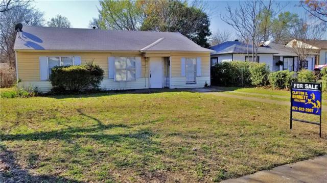 7607 Linwood Avenue, Dallas, TX 75209 (MLS #13791223) :: Team Hodnett
