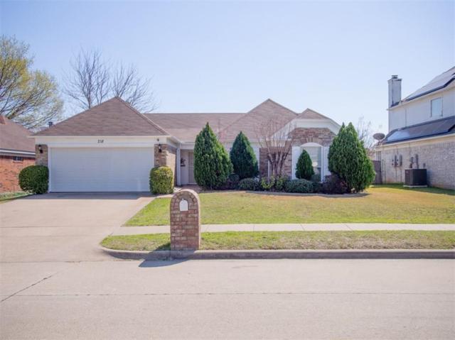 218 E Embercrest Drive, Arlington, TX 76018 (MLS #13793001) :: Team Hodnett