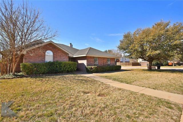5173 Western Plains Avenue, Abilene, TX 79606 (MLS #13793913) :: Team Hodnett