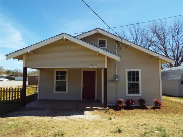 414 S Green Street, Eastland, TX 76448 (MLS #13796978) :: Team Hodnett
