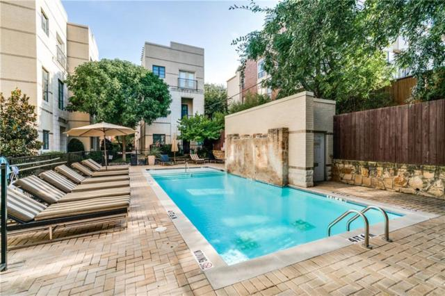 3210 Carlisle Street #37, Dallas, TX 75204 (MLS #13800415) :: Baldree Home Team