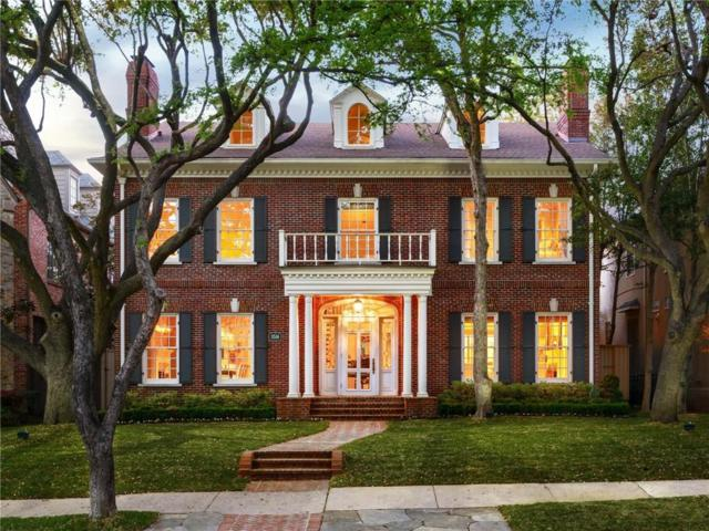 3516 Dartmouth Avenue, Highland Park, TX 75205 (MLS #13810305) :: Frankie Arthur Real Estate
