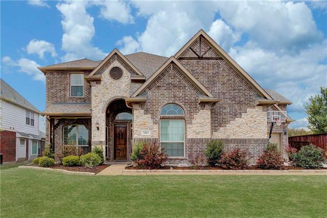 181 Chapel Hill Drive, Prosper, TX 75078 (MLS #13813418) :: Team Hodnett