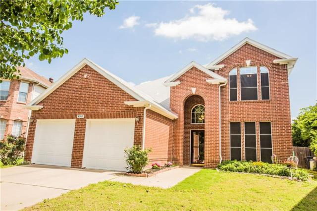 4763 Parkmount Drive, Fort Worth, TX 76137 (MLS #13813489) :: The Rhodes Team